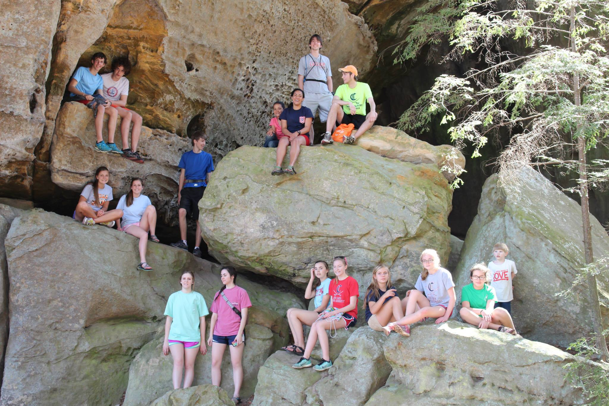 Spring Retreat at Picket State Park